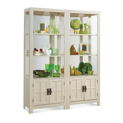 ColorTime Saybrook Entertainment Center Color: Sandshell White