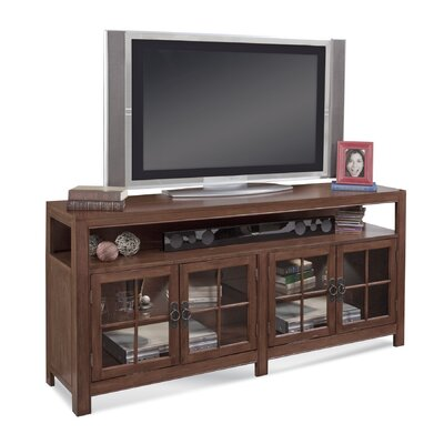 ColorTime Saybrook 66 TV Stand Color: Chestnut
