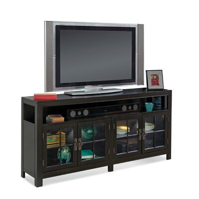 ColorTime Saybrook 66 TV Stand Color: Galaxy Black