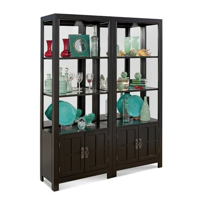 ColorTime Saybrook Entertainment Center Color: Galaxy Black