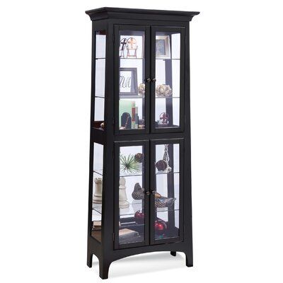 Lancaster I Lighted Curio Cabinet