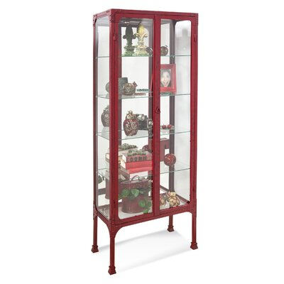 Kildair I Curio Cabinet Finish: Antique Red