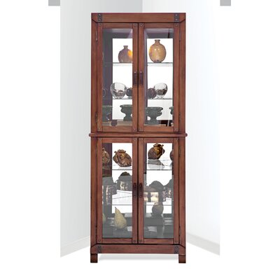 Wellesley Corner Curio Cabinet Finish: Chestnut
