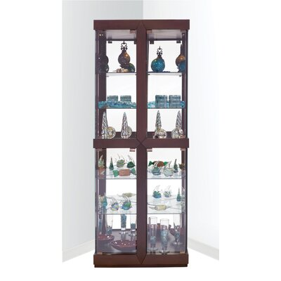 Catchings Corner Curio Cabinet Finish: Espresso