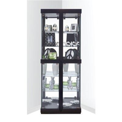 Catchings Corner Curio Cabinet Finish: Galaxy Black