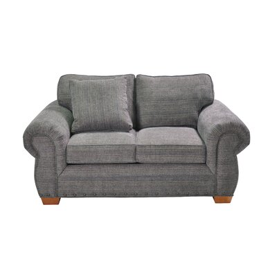 Huth Stationary Loveseat Upholstery: Gray