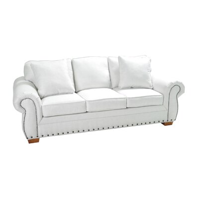 Hutsell Stationary Sofa Upholstery: Cream