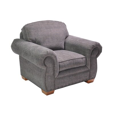 Hutter Stationary Armchair Upholstery: Gray