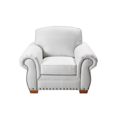 Hutter Stationary Armchair Upholstery: Cream