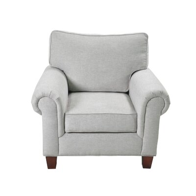 Zazueta Stationary Armchair Upholstery: Cream