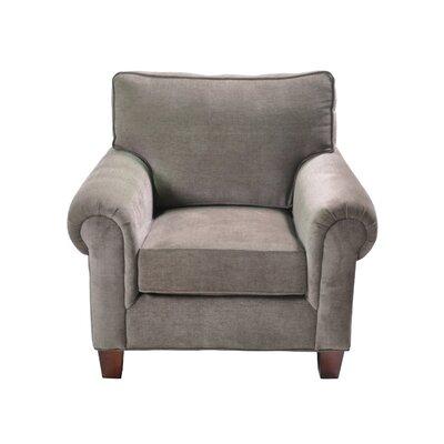 Zazueta Stationary Armchair Upholstery: Gray