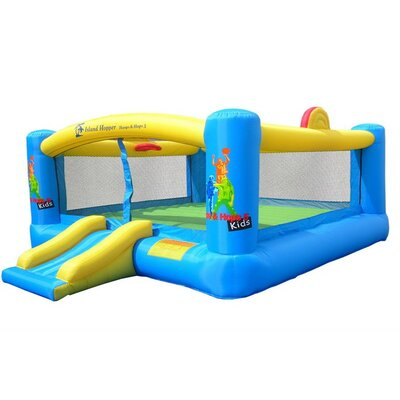 Island Hopper Hoops-N-Hops Bounce House at Sears.com