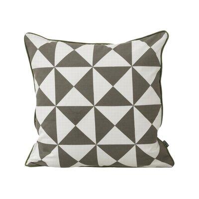 Modern 100% Cotton Throw Pillow Color: Grey