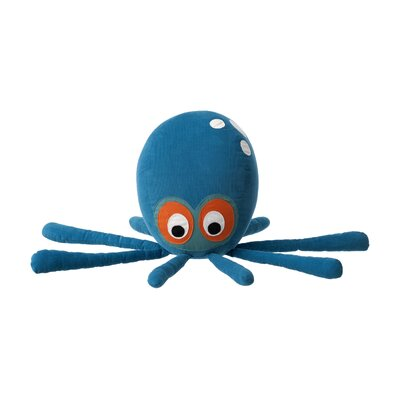 Octopus Cotton Novelty Pillow