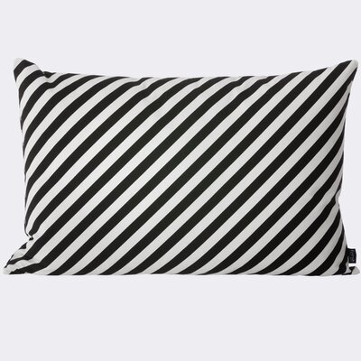 Stripe Cotton Lumbar Pillow
