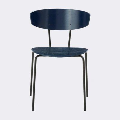 Herman Side Chair Finish: Dark Blue