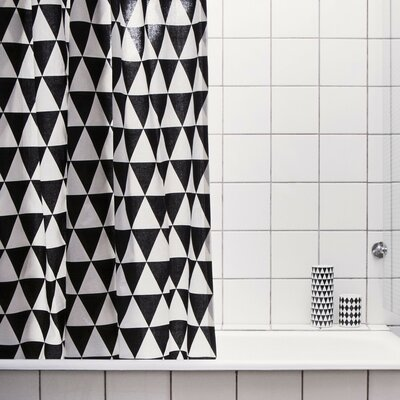 Triangle Shower Curtain 9115