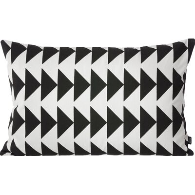 Arrow Cotton Lumbar Pillow