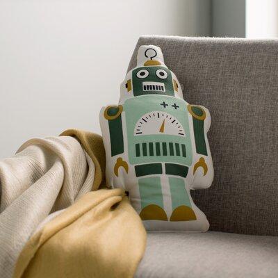 Mr. Robot Cotton Lumbar Pillow Size: 15.74 H x 8.6 W
