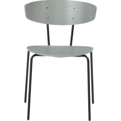 Herman Side Chair Finish: Grey