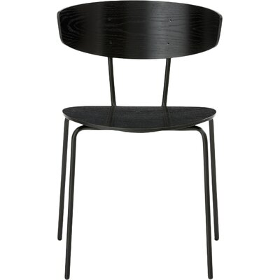 Herman Side Chair Finish: Black