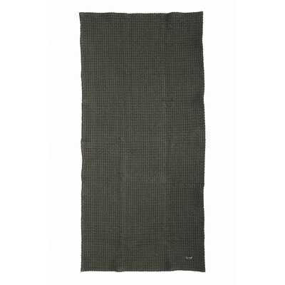 Organic Cotton Hand Towel Color: Grey