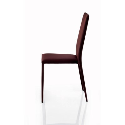 Malik Upholstered Dining Chair Upholstery: Anthracite