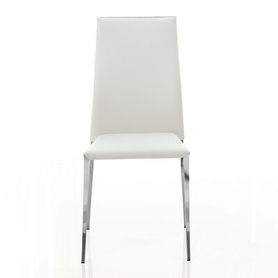 Tai Genuine Leather Upholstered Dining Chair