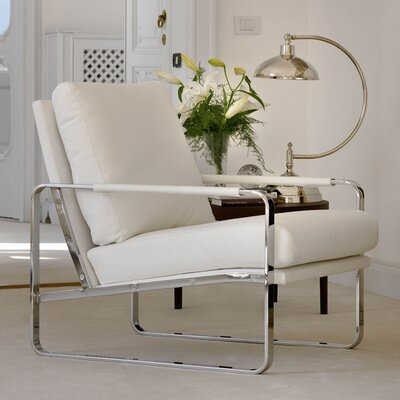 Clarissa Armchair Finish: White