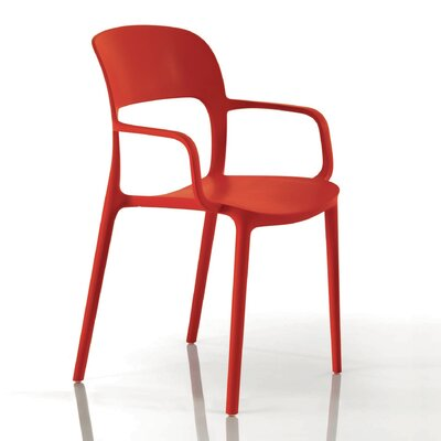 Gipsy Arm Chair Finish: Strawberry Red