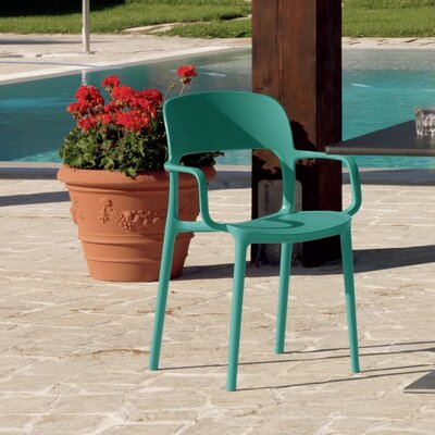 Gipsy Arm Chair Finish: Turquoise