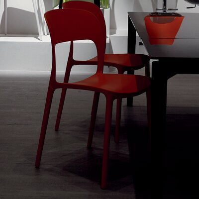 Gipsy Dining Chair Upholstery: Strawberry Red