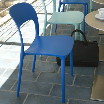 Gipsy Dining Chair Upholstery: Blue Marine