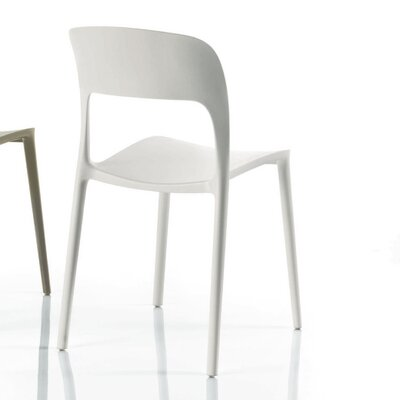 Gipsy Side Chair Upholstery: White