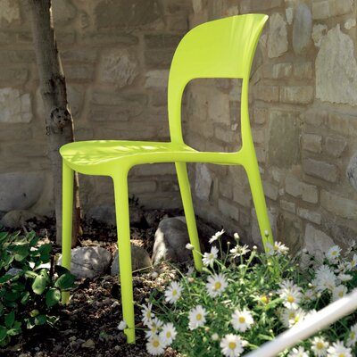 Gipsy Dining Chair Upholstery: Lime Yellow
