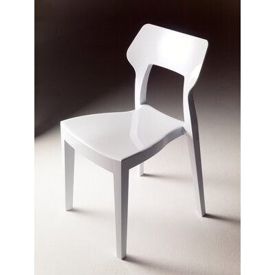 Low Price Bontempi Casa Aria Chair (Set of 2) Finish: White