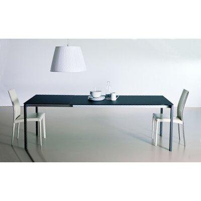 Keyo Dining Table Top Finish Extrawhite Base Finish Chrome