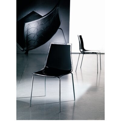 Financing for Leyla Side Chair Finish: Black/Tran...