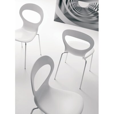 Lease to own Paperik Side Chair Finish: White...