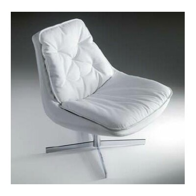 Daya Lounge Chair Upholstery: White eco-leather