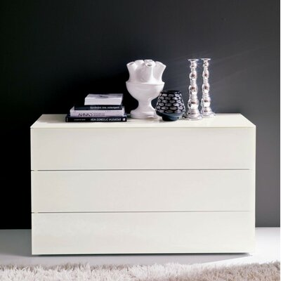 Enea 3 Drawer Nightstand