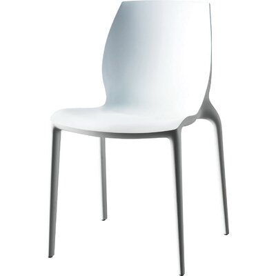 Hidra Dining Chair (Set of 2) Finish: White