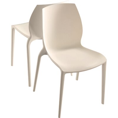 Hidra Chair (Set of 2) Finish: Ivory