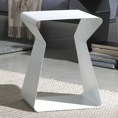 Kito End Table Color: White