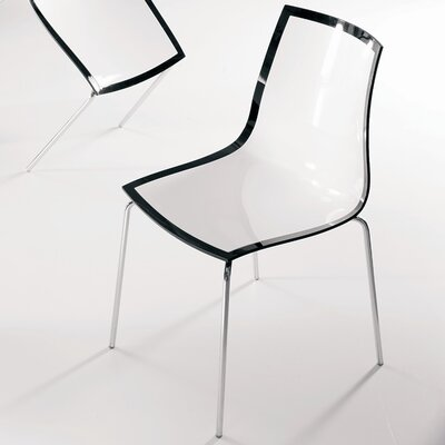 Financing for Leyla Side Chair Finish: White/Blac...