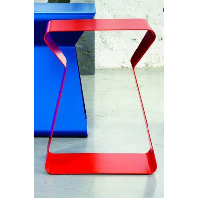 Kito End Table Finish: Red