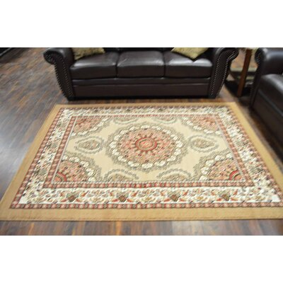 Richert Beige Area Rug