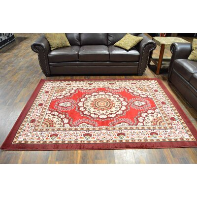 Richeson Burgundy Area Rug