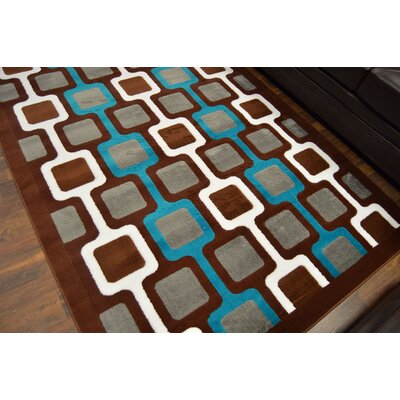 Cosner Brown/Gray Area Rug