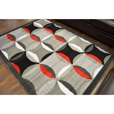 Cosner Gray Area Rug